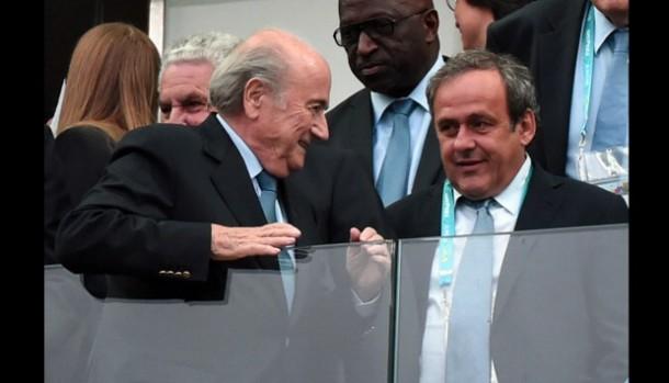 FIFA Hukum Sepp Blatter dan Michel Platini Skorsing 8 Tahun