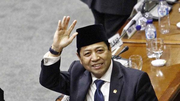 Mengundurkan Diri, Setya Novanto Ingin Masyarakat Tenang