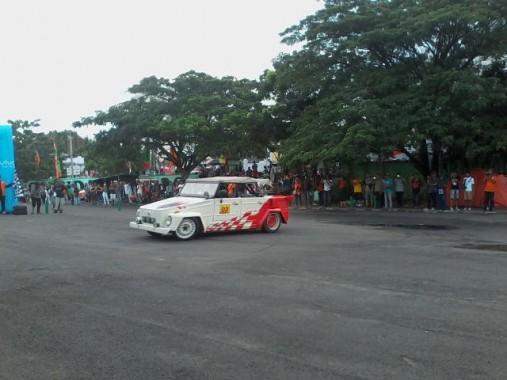 Slalom Fun Test Bikin Penonton Jumpa Volkswagen Sumatera 2 Berdebar