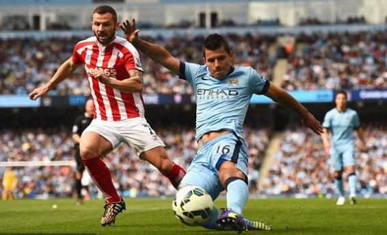 Manchester City Diunggulkan Lawan Stoke