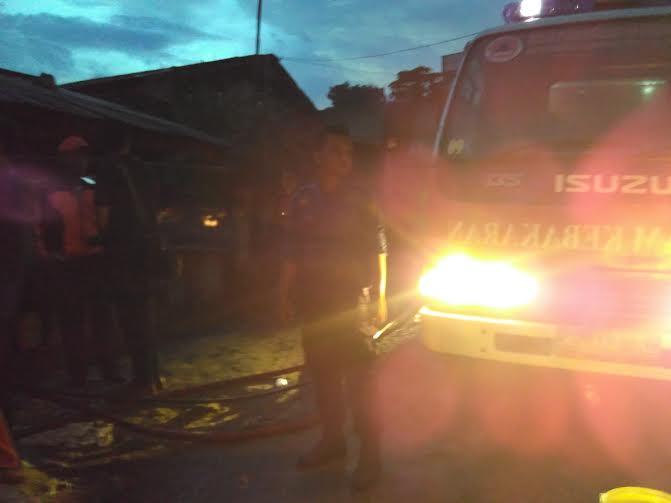 Breaking News: Kerugian Kebakaran di Sumur Putri Bandar Lampung Puluhan Juta