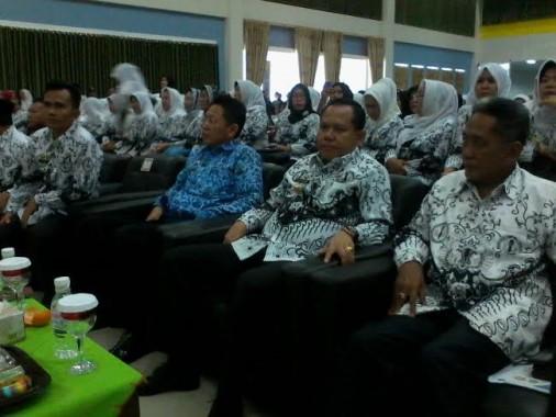 Sulpakar Hadiri Peringatan HUT PGRI Ke-70 Kota Bandar Lampung