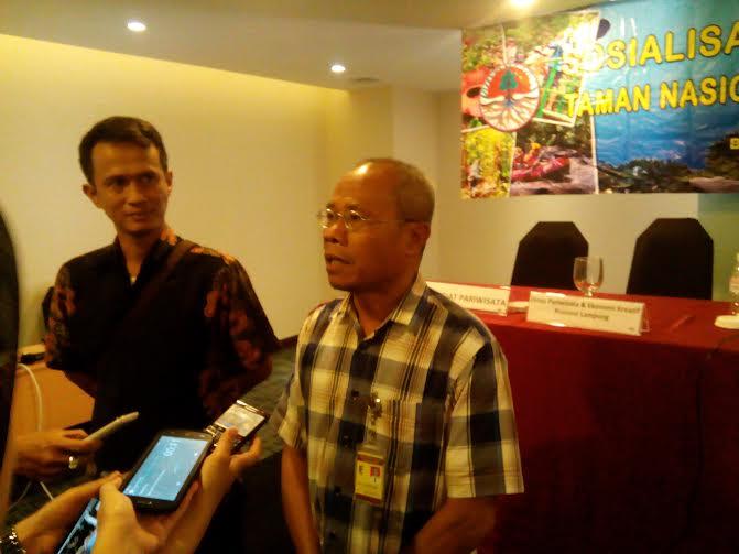 Kepala Bidang Teknis TNBBS Muniful Hamid | Adian/jejamo.com