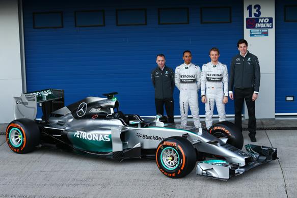 Tim Mercedes F1 | ist
