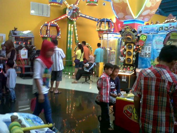 Libur Maulid Nabi, Timezone Mall Boemi Kedaton Ramai