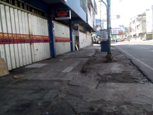 Libur Pilkada Bandar Lampung, Jalanan Lengang