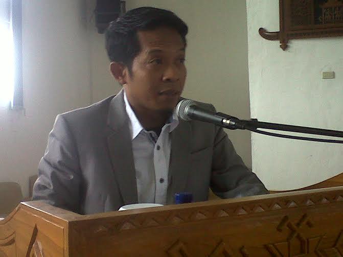 Ketua Banleg Lampung Tengah Wahyudi | Raeza/jejamo.com