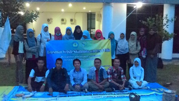 Website nikahmuda.com. diluncurkan Unit Kegiatan Mahasiswa Penelitian (UKM P) Unila, Jumat,  4/12/2015. | Ist