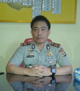 , Kapolsek Seputihmataram Kabupaten Lampung AKP Edi Qorinas, SH. | Adrian/Jejamo.com