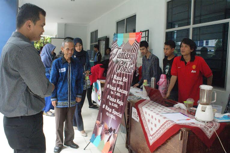 Pameran Technopreneurship IBI Darmajaya Lampung. | Ist.
