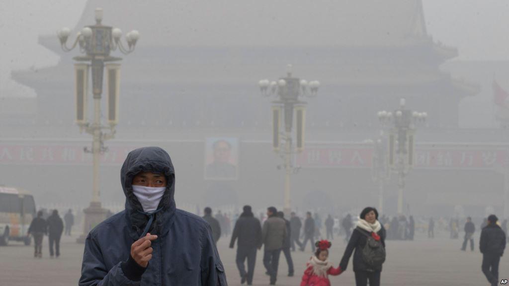 Beijing kembali diselimuti kabup asap berbahaya. | voaindonesia.com