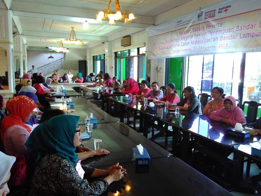 KPU Bandar Lampung Limpahkan Kerusakan Atribut Kampanye ke Perusahaan