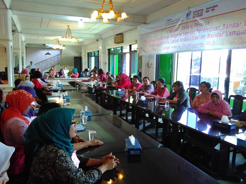 Advokasi Damar: Pilkada Momentum Bangun Kesadaran Politik Perempuan