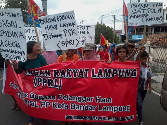 Lecehkan PSK Saat Razia, Warga Tuntut Oknum Satpol PP Bandar Lampung