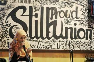 Malam Puisi Bandar Lampung, Mutia: Puisi Adalah Ungkapan Jiwa