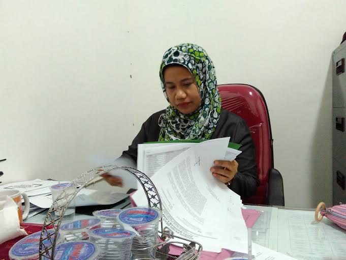 Komisioner KPU Bandar Lampung, Fadilasari. | Andi/Jejamo.com