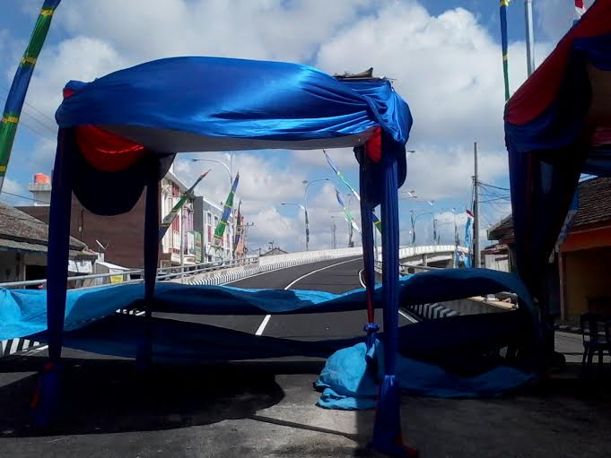 Sambut Tahun Baru, Fly Over Kimaja Bandar Lampung Diresmikan