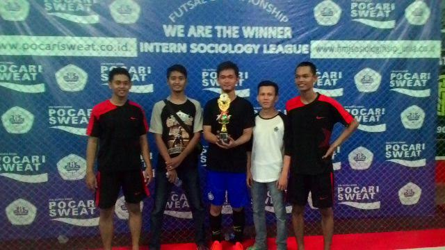 SOS 2010 Runner Up Turnamen Intern Sociology League Unila