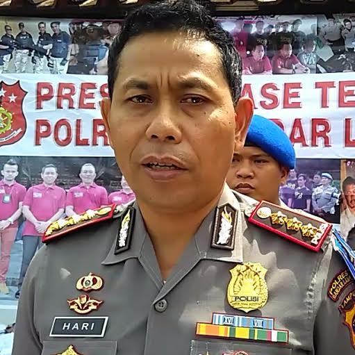 Ciptakan Keamanan di 2 Kecamatan, Kapolsek Seputihmataram Bangun Pos Penjagaan