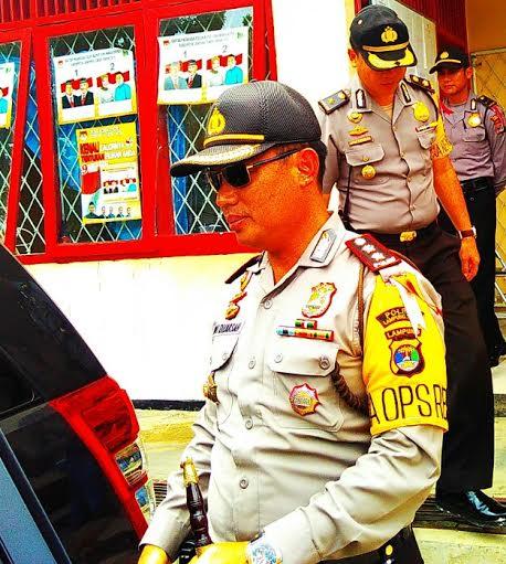 Kapolres Lampung Timur Jamin Keamanan Penetapan Bupati Terpilih