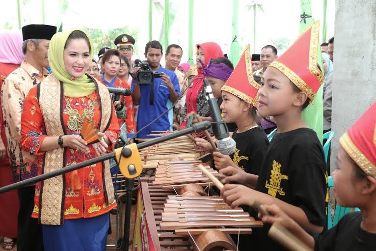Lomba Kesrak Tingkat Provinsi, Pekon Wonosari Pringsewu Dinilai