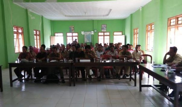 Musbangdes di Desa Taman Negeri Kecamatan Way Bungur Lampung Timur, Rabu 23/12/2015. | Parman/Jejamo.com