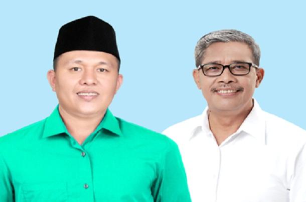 Mustafa-Loekman sebagai bupati dan wakil upati terpilih Lampung Tengah | ist
