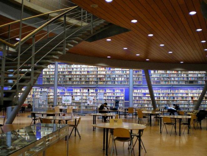 Perpustakaan megah (ilustrasi). | viva.co.id
