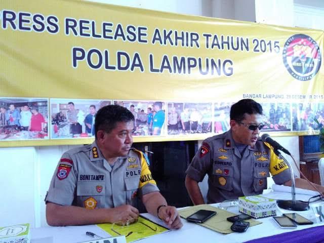 Berikut Daftar Operasi Keamanan Polda Lampung 2015