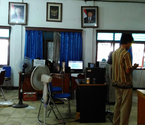 Baru 11 Kecamatan Serahkan Hasil Pleno PPK Lampung Tengah