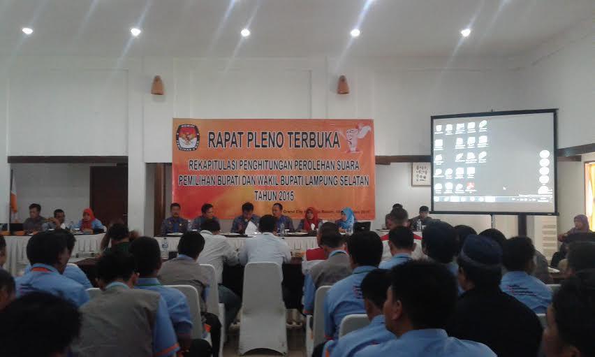 Zainuddin-Nanang Menangi Pilkada Lampung Selatan Versi KPU