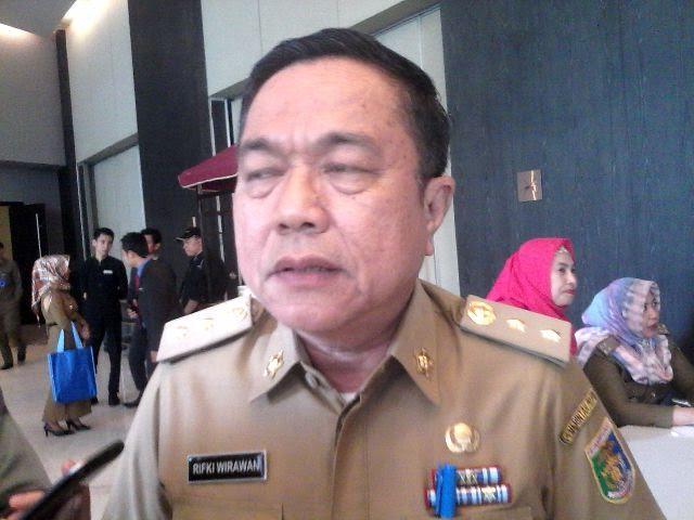 Asisten 1 Bidang Pemerintahan Provinsi Rifki Wirawan. | Widya/Jejamo.com
