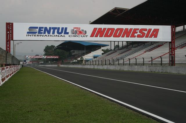 Sirkuit Sentul Indonesia. | m.aktualpost.com