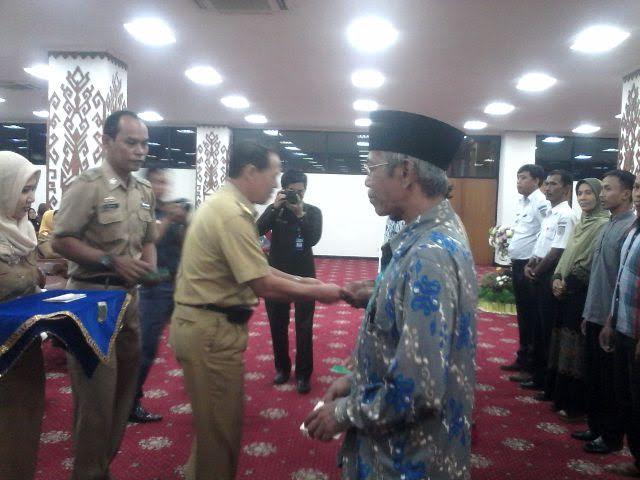 Alhamdulillah, Ribuan Guru Ngaji di Lampung Terima Bantuan