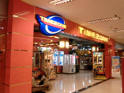 Timezone Mall Kartini Bandar Lampung. | Sugiono/Jejamo.com