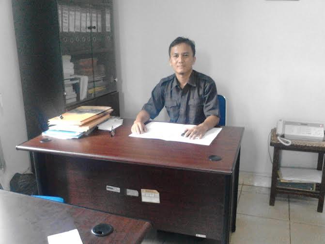 Ade Fitriansyah, Seksi Distribusi BPS Lampung Utara | Buhairi/jejamo.com