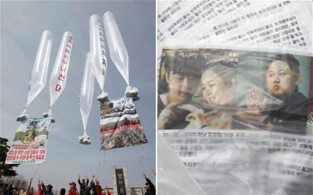 Korea Utara Sebar 1 Juta Leaflet Propaganda di Perbatasan Korea Selatan