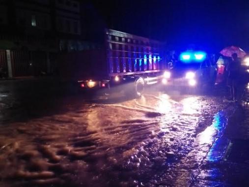 Banjir di Kabupaten Pringsewu