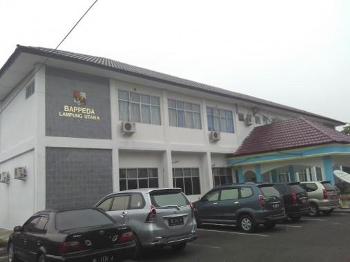 Kantor Bappeda Lampung Utara. | Buhairi Aidi/Jejamo.com