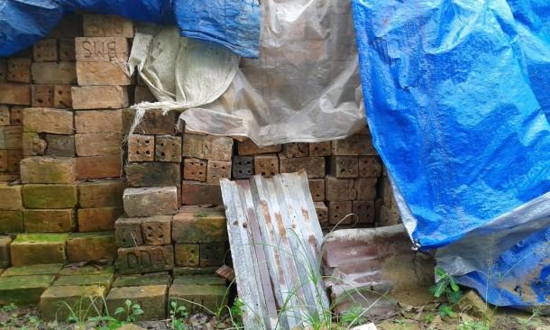 Penjualan Batu Bata Desa Sumber Agung Lampung Tengah Turun
