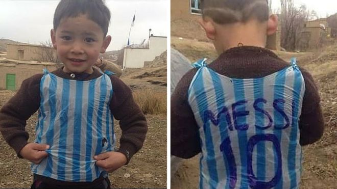 Identitas Fans Misterius Messi Terbongkar