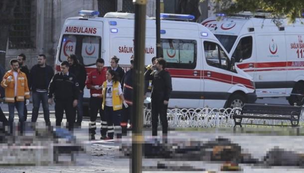 Bom Bunuh Diri Serang Ibu Kota Turki, 10 Orang Tewas