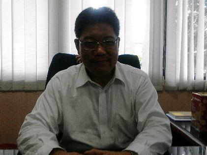 Wakil Rektor I Bidang Umum dan Akademik Prof  H Bujang Rahman | Sugiono/jejamo.com