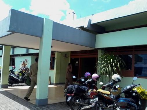 Kantor Dinas Kesehatan Bandar Lampung. | Sigit Sopandi/jejamo.com