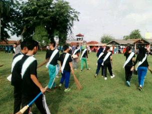 Sebanyak 40 orang muda-mudi yang masuk dalam 20 besar pemilihan Duta Lingkungan Hidup Lampung Utara dukung kabupaten setempat untuk meraih piala Adipura.