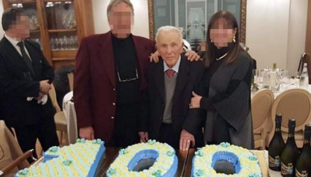 Godfather Mafia Itali Rayakan Ultah ke-100