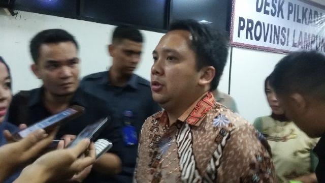 Gubernur Lampung M Ridho Ficardo | Widya/jejamo.com
