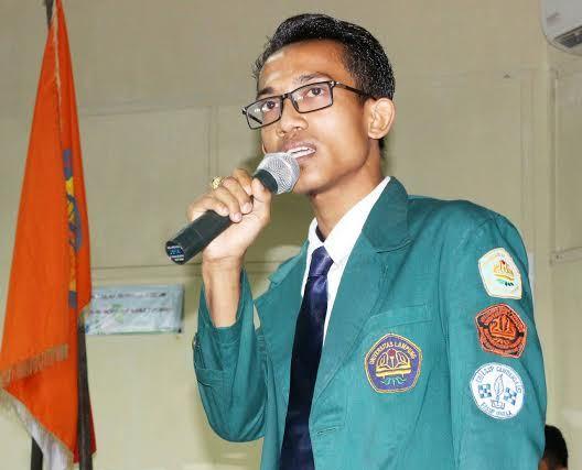 Rosim Nyerupa, Aktivis HMI Komisariat Sosial Politik  Universitas Lampung. | Ist.