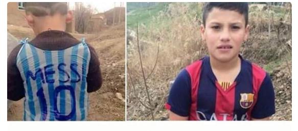 Ditemukan! Bocah Berseragam Messi Dari Kantung Plastik