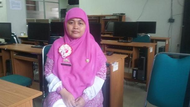 Humas BPS Lampung Erika Santi | Arif/jejamo.com